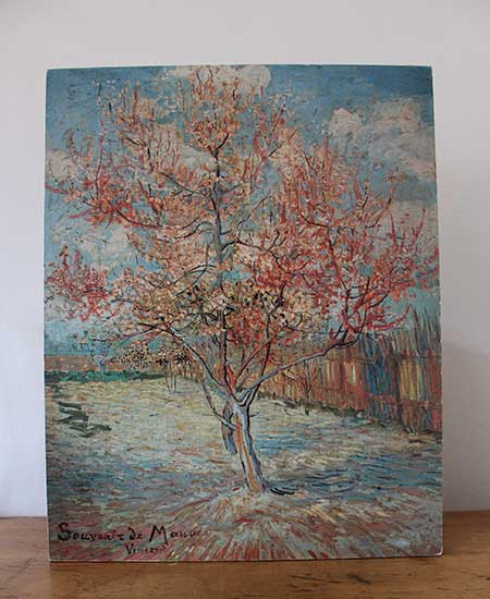 Schilderij Vincent van Gogh: de roze perzikboom