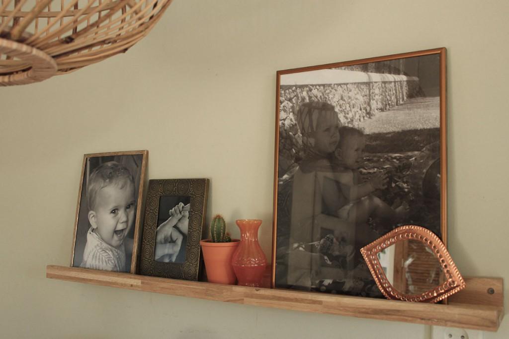 fotolijstjes zwart-wit