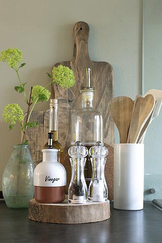 olijfolie pollepels decoratie keuken