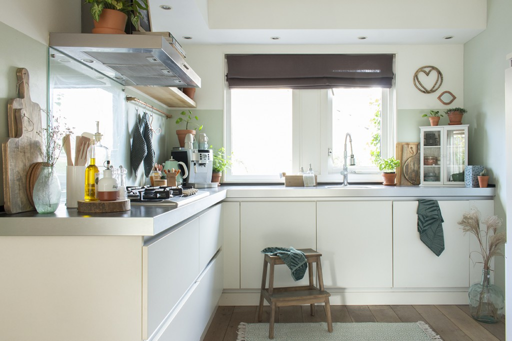 gezellige keuken overzicht